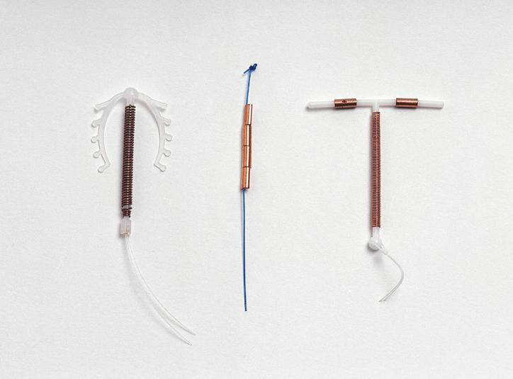 Intrauterine contraceptive devices